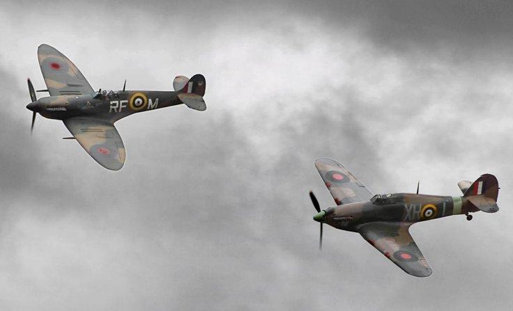 A Spitfire
