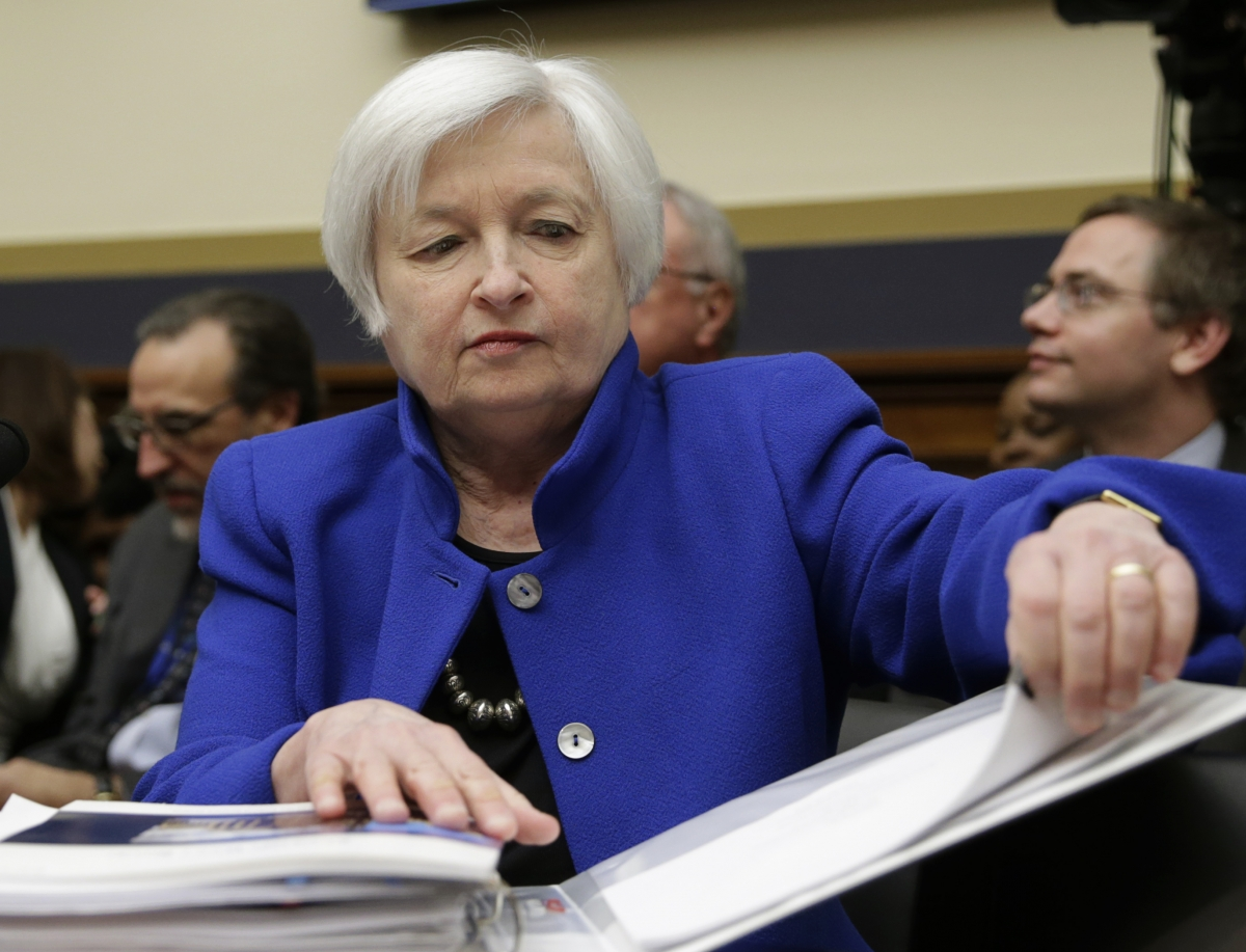 Janet Yellen Former Fed Chair Set To Become First Woman To Lead Treasury Department