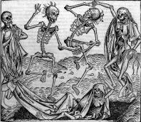 Dancing skeletons, 'Dance of Death'