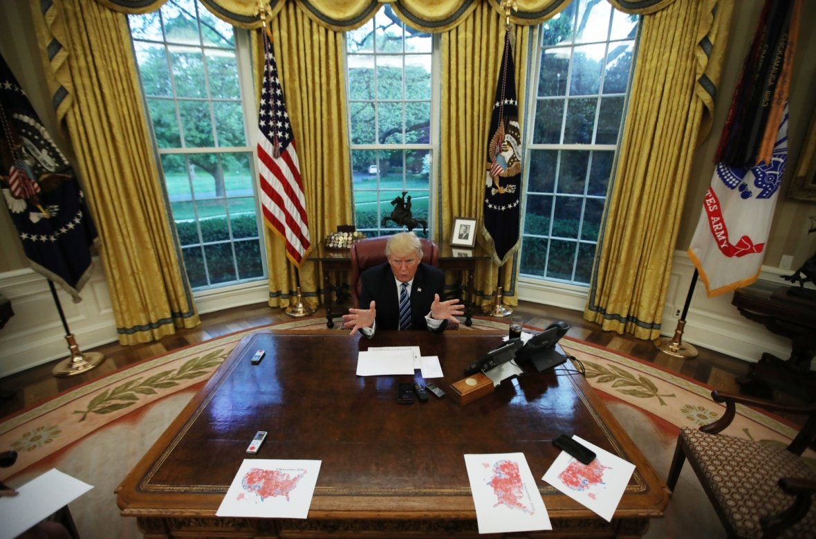 UNITED STATESPresident Donald Trump