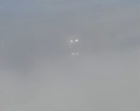 Image of the two lights seen in the sky