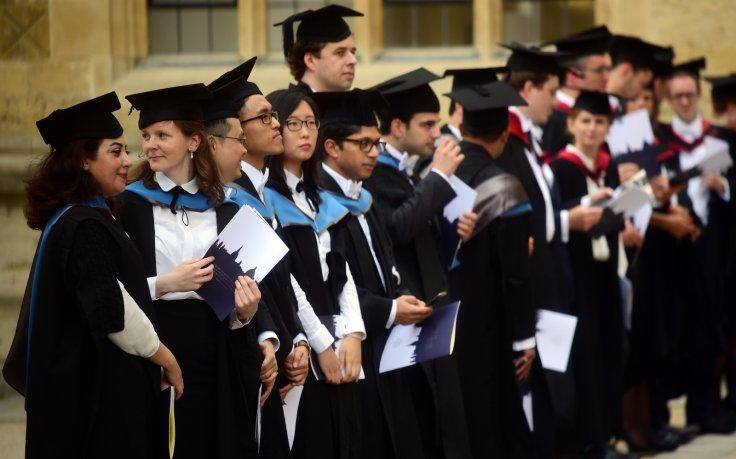 Oxford University graduation ceremony