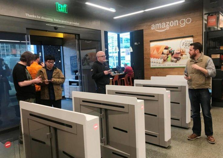 Amazon Go opens in Seattle