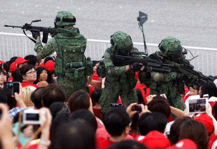 National Servicemen Singapore