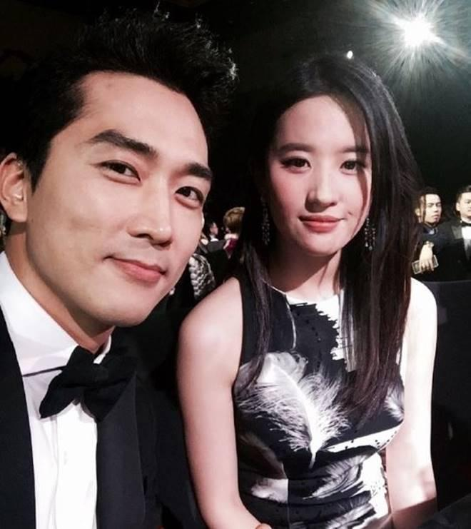 Song Seung Hun and Liu Yifei