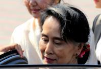Myanmar's State Councellor Daw Aung San Suu Kyi