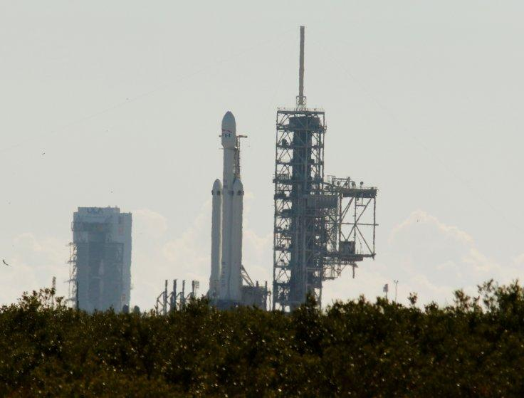 SpaceX's first Falcon Heavy rocket