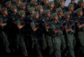 Singapore soldiers