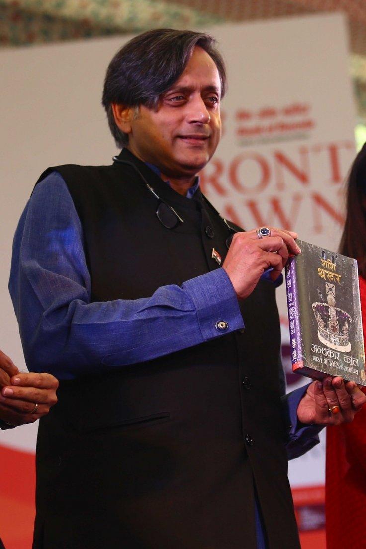 Author Shashi Tharoor