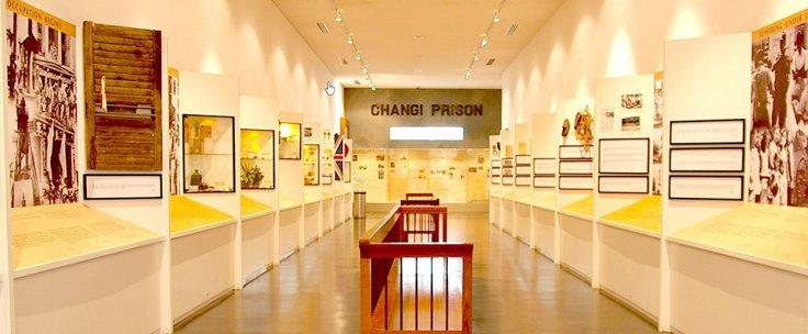 Changi Prison exhibit in Changi Museum
