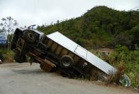 Lorry accident