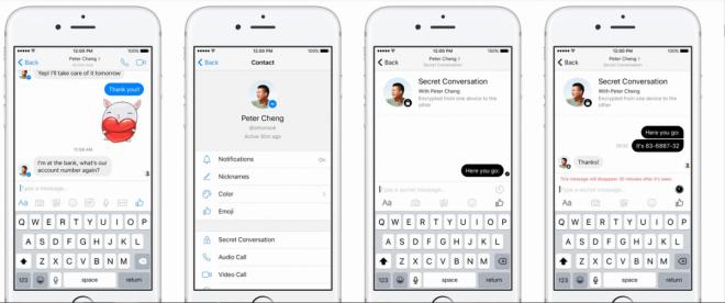 Facebook Messenger: Secret Conversations