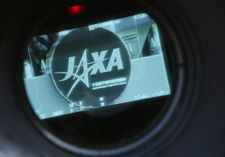 A logo of the Japan Aerospace Exploration Agency (JAXA)