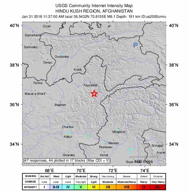 delhi quake