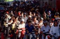 Singapore motorcyclists