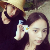 Big Bang's Taeyang and Min Hyorin