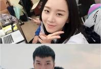 Shin Hye Sun (top) and Lee Seung-gi