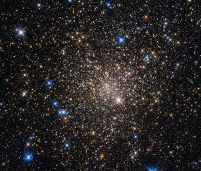 Lying around 20,000 light-years from us in the constellation of Scorpius (The Scorpion)