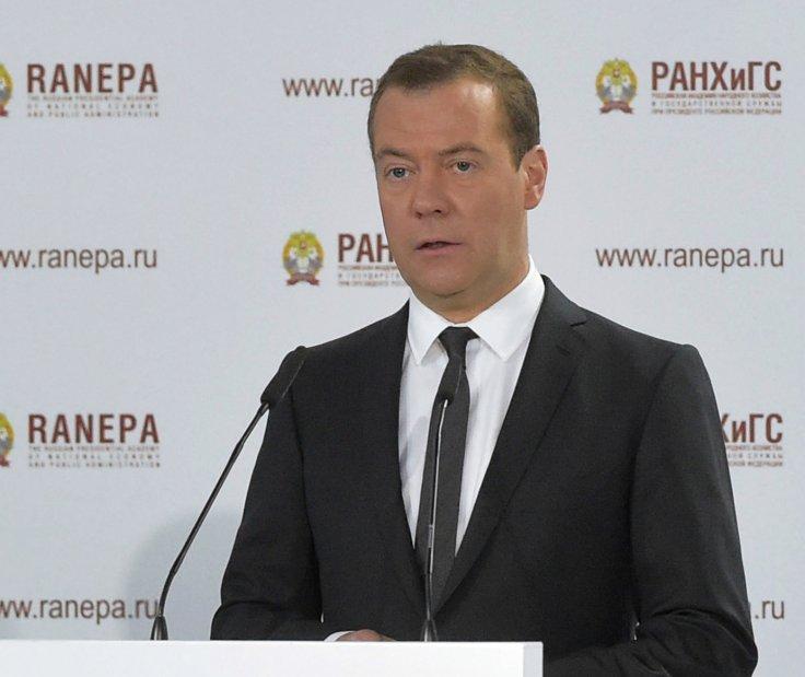 Prime Minister of Russia Dmitry Medvedev