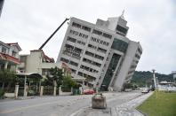 Tawian earthquake