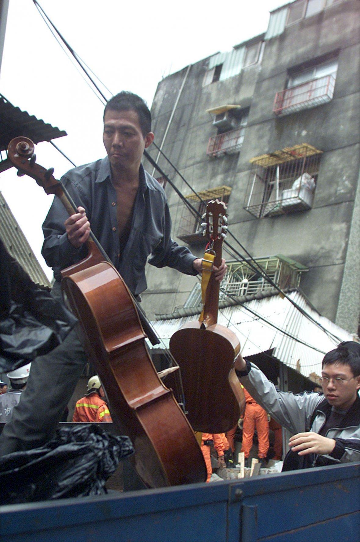 A supvivor carries out of cello
