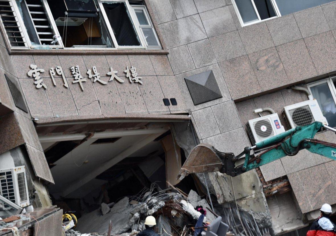 Taipei earthquake