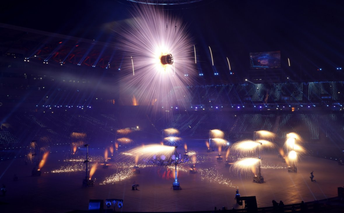 Opening ceremony – Pyeongchang Olympic Stadium
