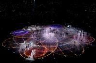 Pyeongchang 2018 Winter Olympics , Opening ceremony