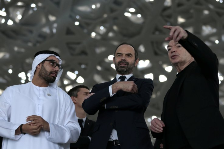 French Prime Minister visits the Louvre Abu Dhabi