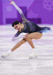 Evgenia Medvedeva in 2018 Winter Olympic