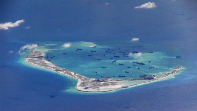 China to hold military drills amid South China Sea tensions