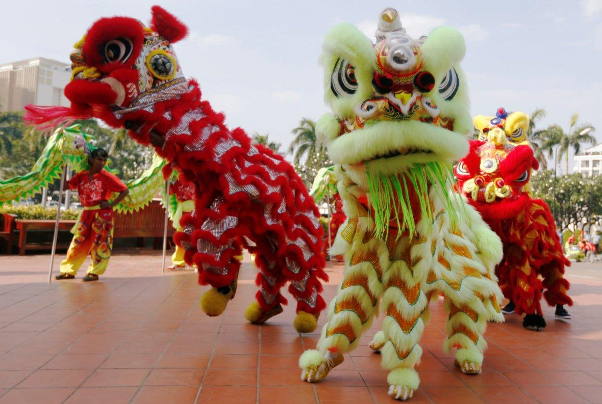 Chinese Lunar New Year in Phnom Penh, Cambodia