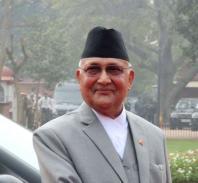 Prime Minister of Nepal K.P. Sharma Oli