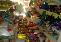 MexicoFallen merchandise is seen on the floor of a shop after an earthquake in Oaxaca