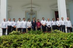 Indonesian Minister of Industry, Airlangga Hartarto
