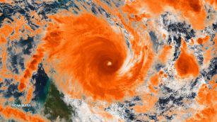 Tropical cyclone kelvin