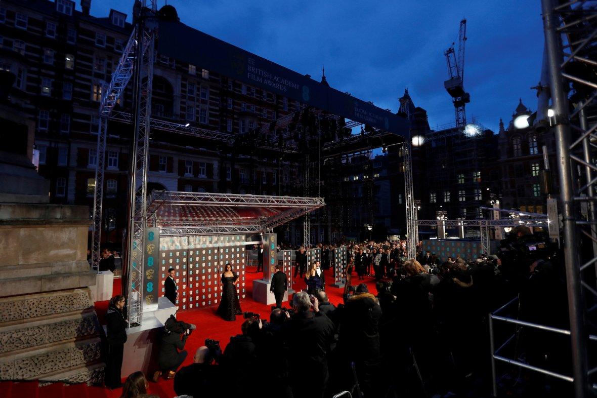 Hofit Golan arrives at the British Academy of Film and Television Awards (BAFTA)