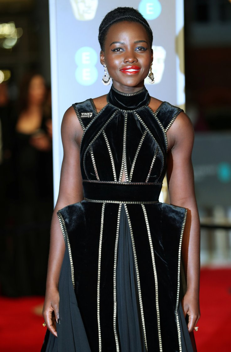 Lupita Nyong'o arrives at the British Academy of Film and Television Awards (BAFTA)