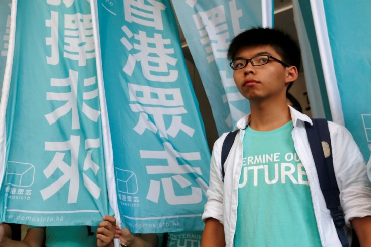 Hong Kong student leader Joshua Wong convicted for democracy protests