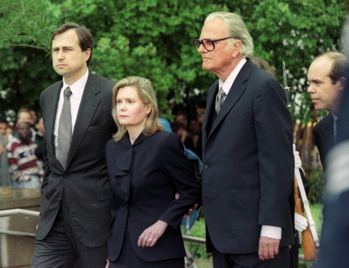 Tricia Nixon Cox, daughter of former President Richard M. Nixon