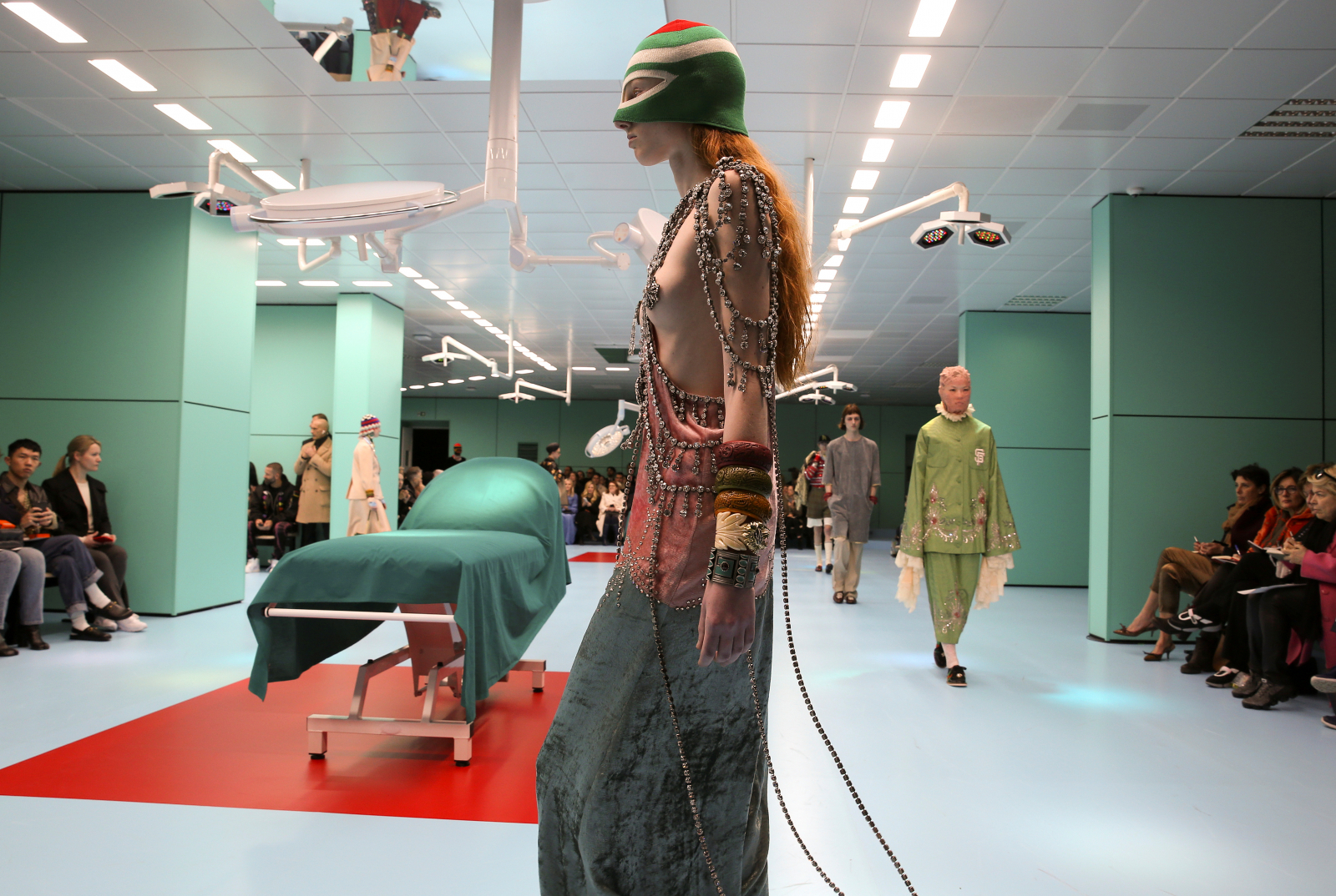 dcd0551e5 In pictures: Glimpses of extraordinary collections at Milan Fashion Week  2018