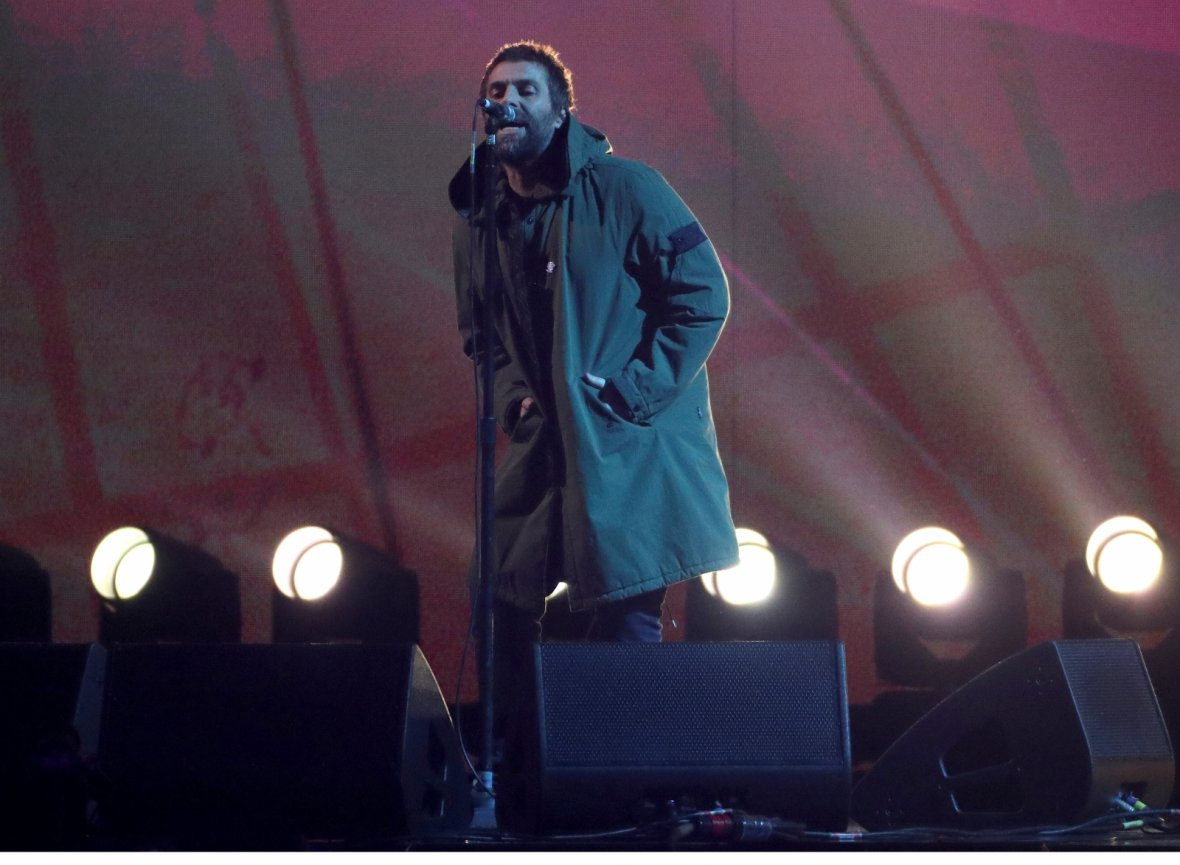 Liam Gallagher performs