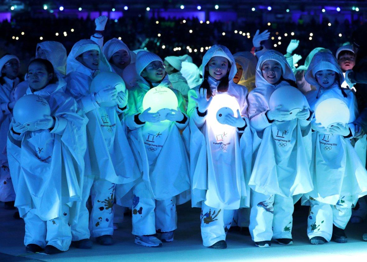 Winter Olympics closing ceremony