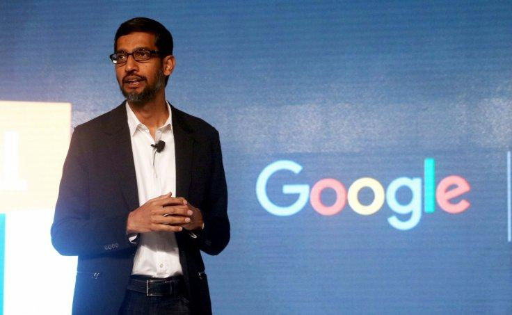 Google global CEO Sundar Pichai