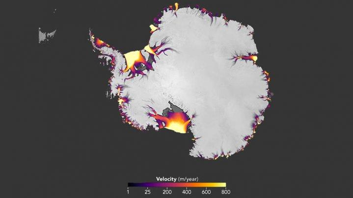 Antarctic ice