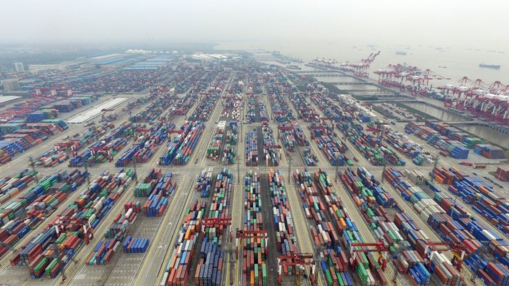 Free trade zone in Shanghai, east China