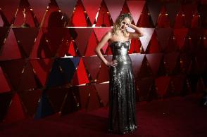 Jennifer Lawrence wears Christian Dior
