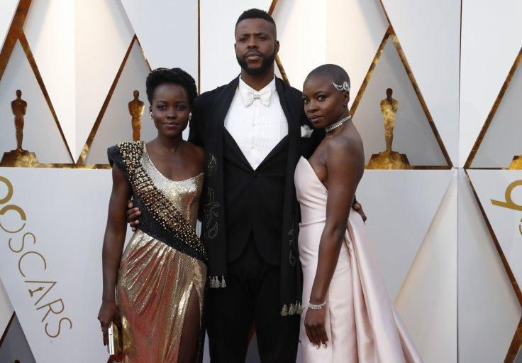 Lupita Nyong'o, Winston Duke and Danai Gurira