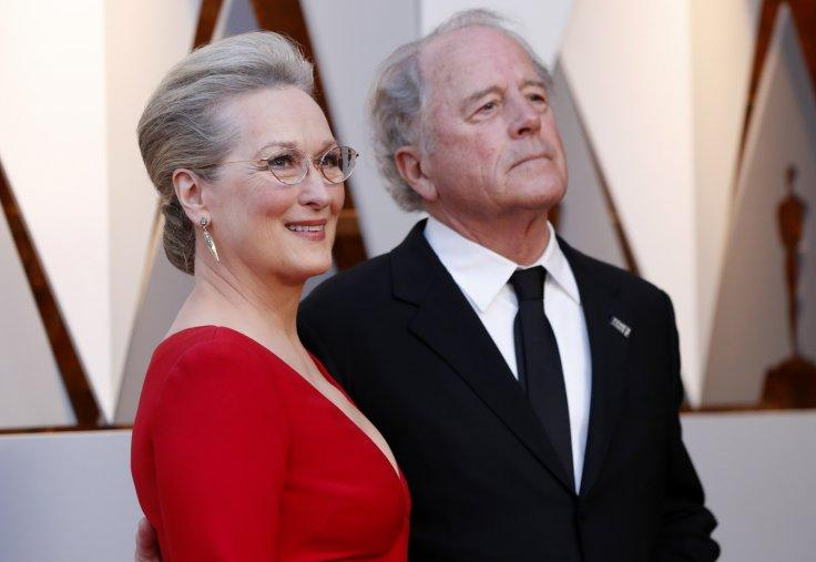 Meryl Streep with husband Don Gummer.