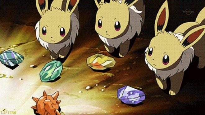 Pokemon GO: Eevee evolution